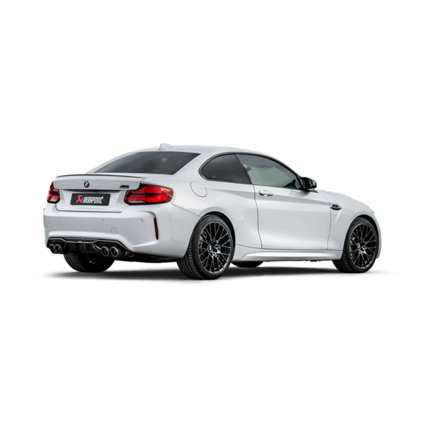 Bmw M2 Competition Akrapovic Onlineshop Slip On Line Titan